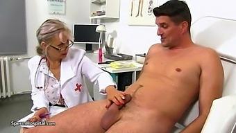 Mature Nurse Needs Sperm Sample