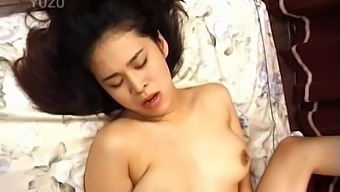 Amazing Asian Girl Moans While Getting Her Tight Pussy Licked